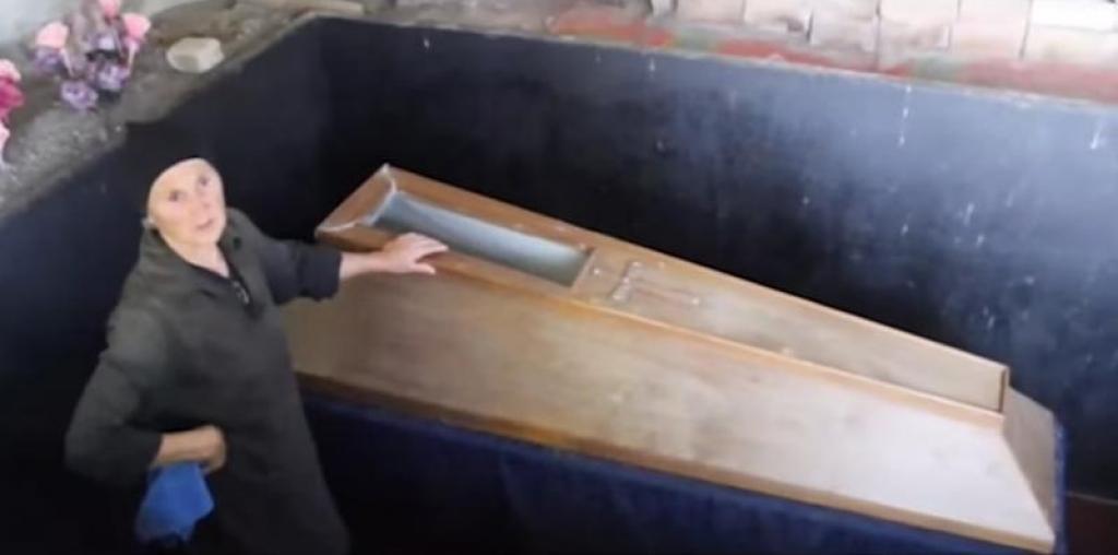 cercueil a donner